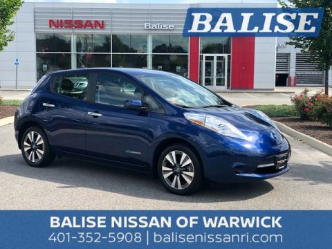 Certified Pre Owned 2016 Nissan LEAF SV