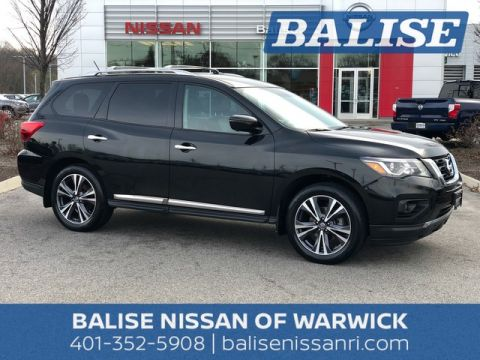 Certified Pre-Owned 2017 Nissan Pathfinder Platinum
